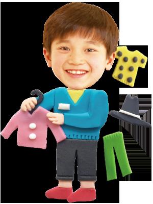 アパレル店員(男)