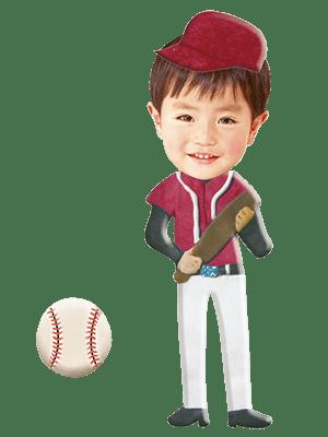 野球選手02
