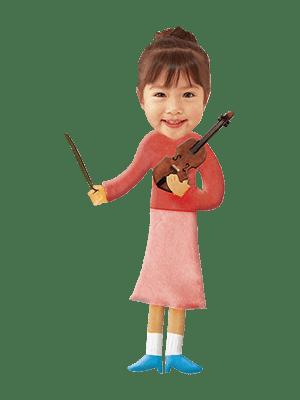 バイオリンの先生
