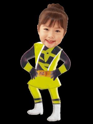 ヒーロー黄
