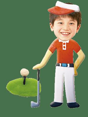 プロゴルファー(男)