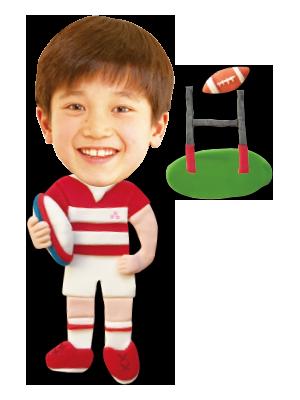 ラグビー選手01
