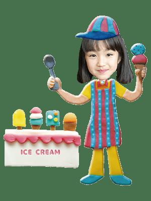 アイスクリーム屋さん