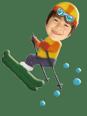 スキー選手