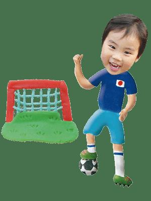 サッカー選手01