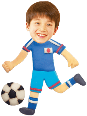 サッカー選手02