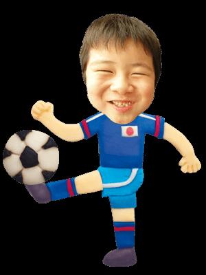 サッカー選手03