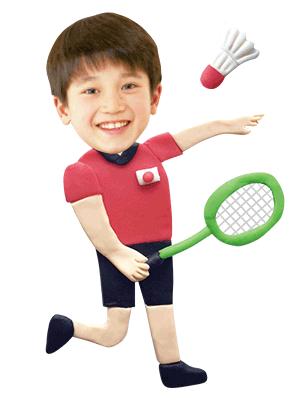 バドミントン選手(男子)