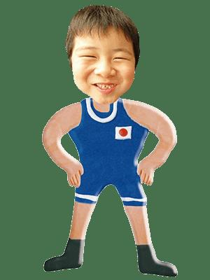 レスリング選手