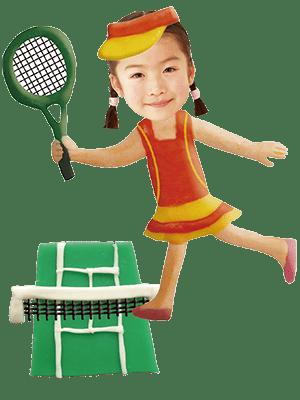 テニス選手女子