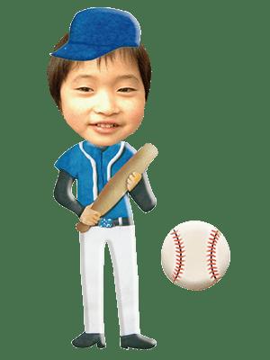 野球選手01