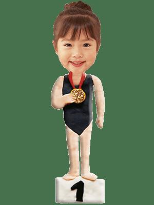 水泳選手女子