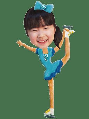 フィギュアスケート選手女子