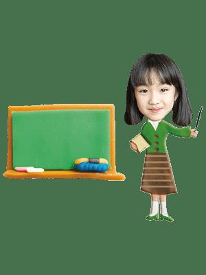学校の先生女性