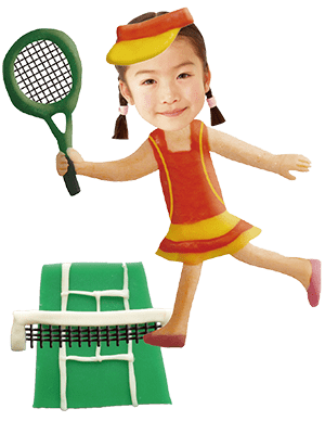 テニス選手(女)