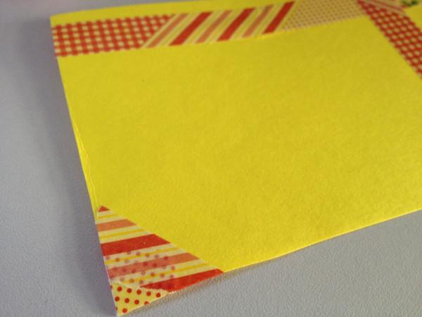 メッセージカード 幼稚園 マスキングテープ
